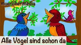 🎵 Alle Vögel sind schon da | Kinderlieder deutsch | Frühlingslied - muenchenmedia thumbnail