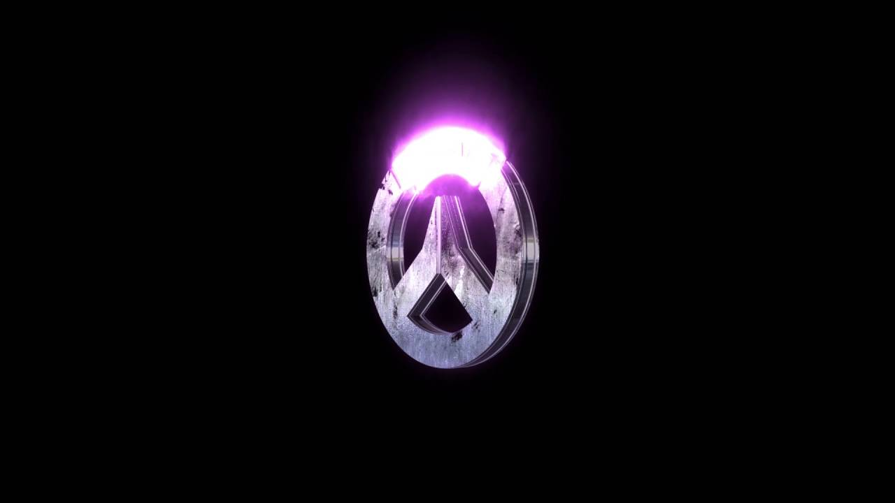 Black And White Diamond Wallpaper Overwatch Logo For Streaming Youtube