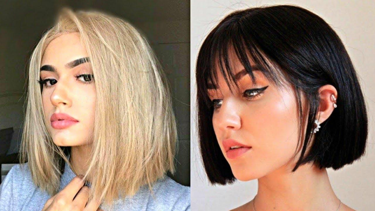أحدث قصات الشعر القصير 2020 غاية في الأناقة والروعة تعلمي طريقة قص شعرك الطويل في المنزل Youtube