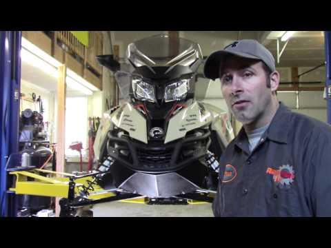 Ski-Doo 1200 Oil Change PART 1 by RawFuelTV