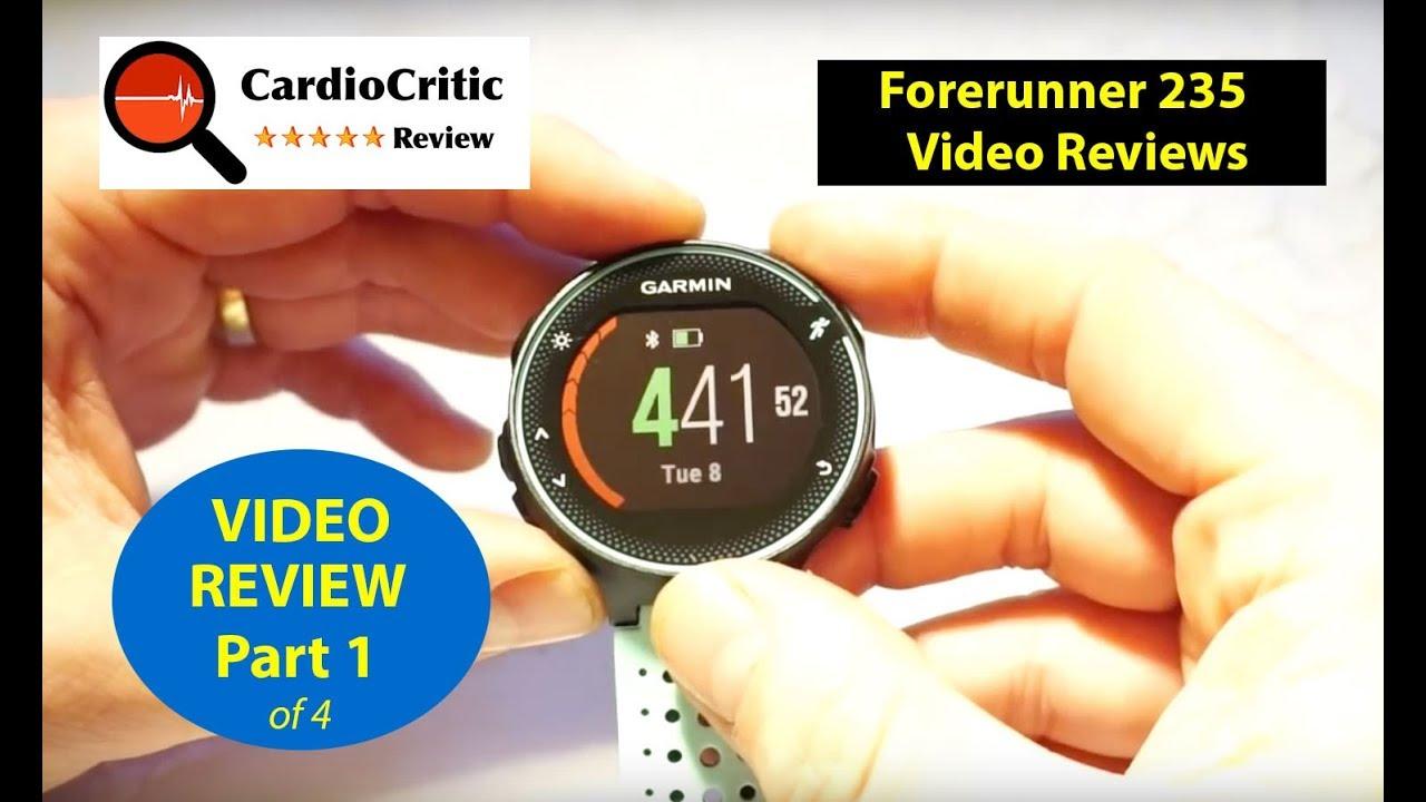 Garmin Forerunner 235 Review – An In-Depth Analysis - CardioCritic com