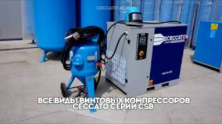 видео Винтовой компрессор Ceccato CSM 10/13 BX-500 Maxi (арт. 4152002371)