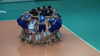 06-01-2018: EuroVolleyU18M - Azzurrini U18M ... Che grinta!!!!!