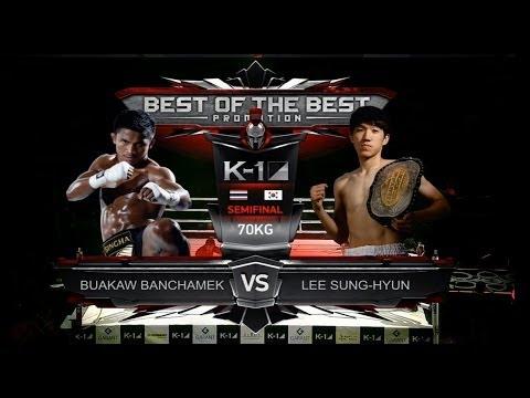 Buakaw Banchamek vs Sung Hyun Lee [K-1 World MAX Final Four 2014-02-23]