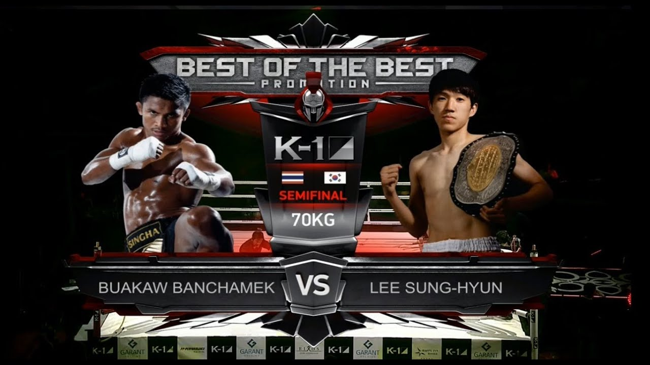 buakaw vs lee seung hyun biography