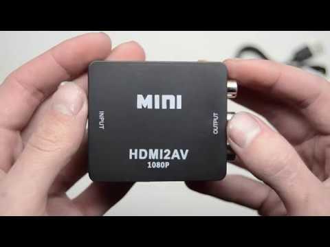 конвертер HDMI To RCA (Тюльпаны) - HDMI2AV