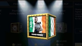 PACK OPENING - Conor McGregor (Champion Edition) EA SPORTS UFC MOBILE