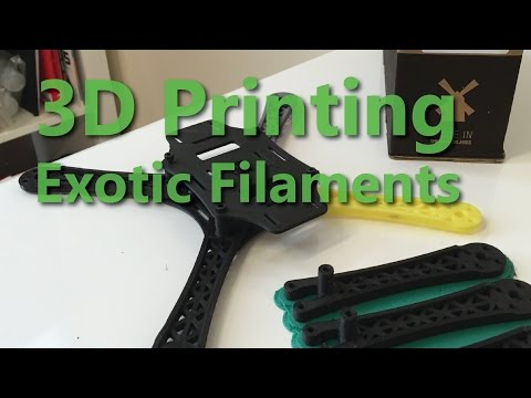 3D Print with Carbon Fiber and TPU! - 2015