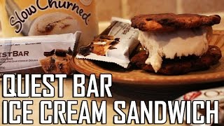 Quest Bar Ice Cream Sandwich: Healthy Bodybuilding Recipe