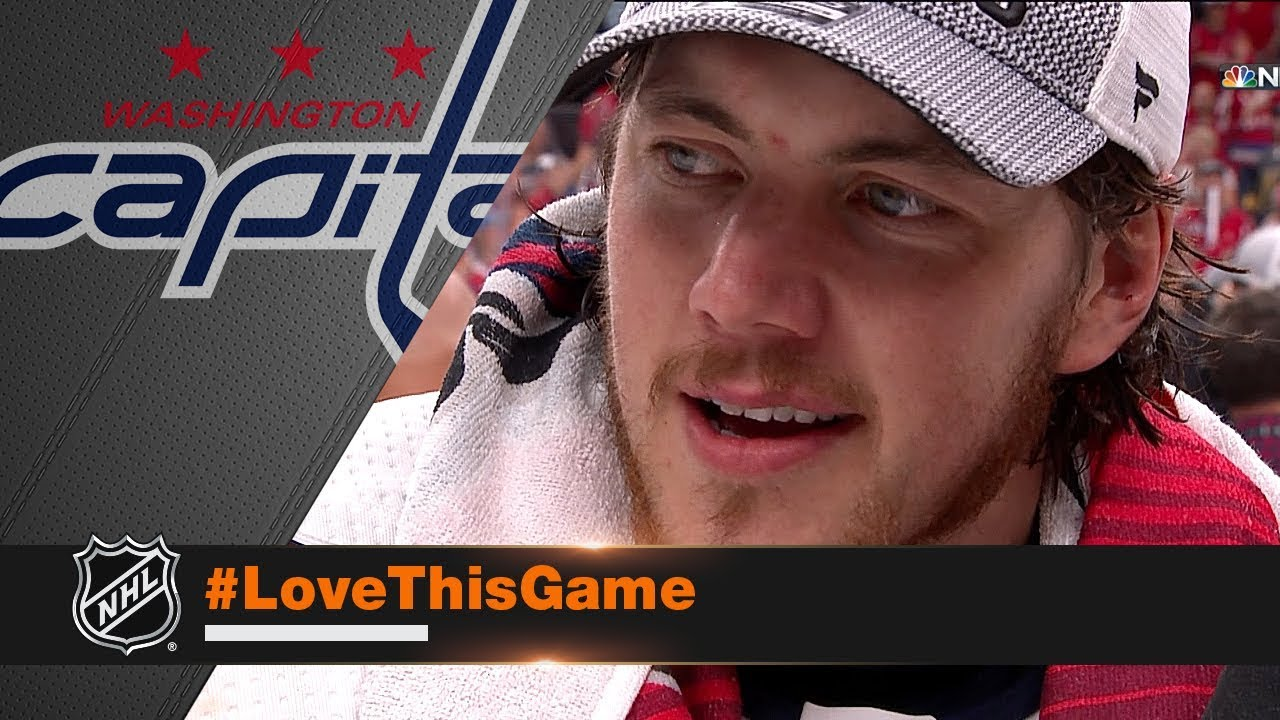 T.J. Oshie gives emotional interview after Stanley Cup win - YouTube e872cb5469e7
