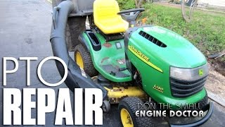 John Deere Lawn Tractor Mowing Deck PTO Switch Replacement - MAKE YOUR TRACTOR MOW AGAIN!