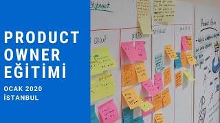 Ocak 2020 Açık Sınıf Product Owner Eğitimi