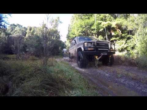 NEW ZEALAND Tongariro National Park 4x4. Hunting