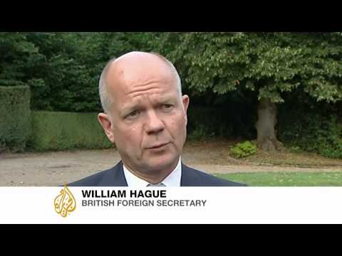 Al Jazeera talks to William Hague about Syria crisis