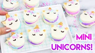 FULL RECIPE HERE: http://kawaiisweetworld.com/recipe/mini-unicorn-m...
