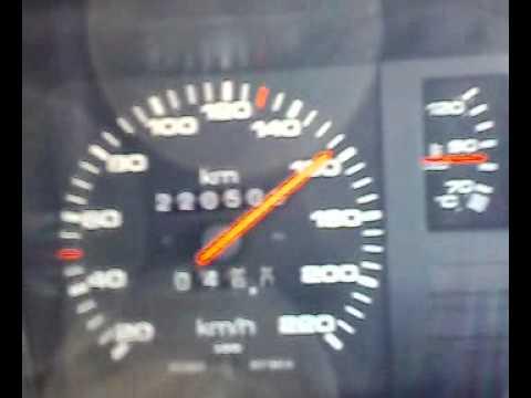 AUDI b2 coupe przyśpieszenie staruszki :)