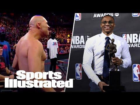 2017 NBA Awards Highlights, LaVar Ball & Lonzo Ball's WWE Appearance | LIVE | Sports Illustrated