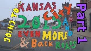 Kansas City 2015 | 1 of 8 | Carrollton to Richmond via Routes E, D, DD, & 10