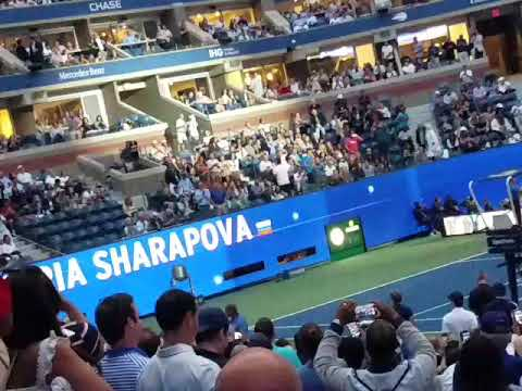 Serena Williams And Maria Sharapova 2019 US Open Introductions