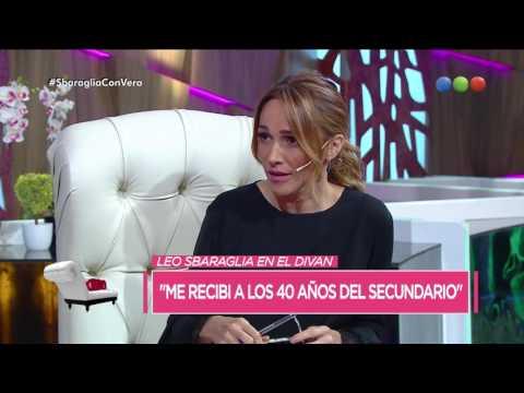 """Leonardo Sbaraglia: """"Me recibí del secundario después de los 40"""" - Cortá Por Lozano"""