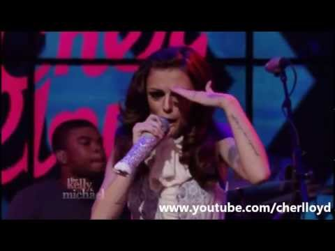 Cher Lloyd performs Oath and Interview on Live! with Kelly and Michael (HQ/HD)