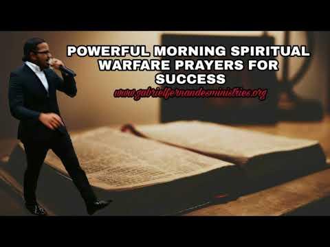 Morning Spiritual Warfare prayers by Evangelist Gabriel Fernandes
