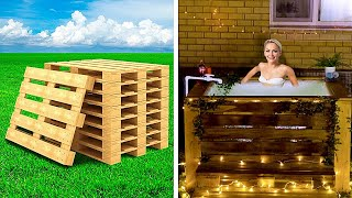 You Can Make Amazing Crafts From Pallets