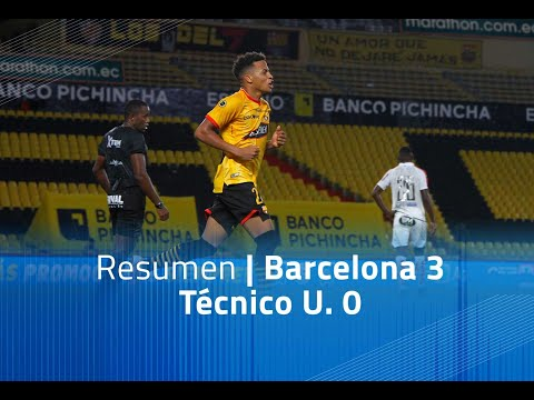 Barcelona SC Tecnico U. Goals And Highlights