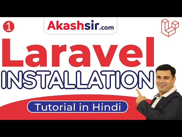 1 -  Laravel Installation - Laravel 6 CRUD Tutorials