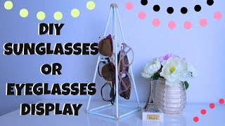 DIY SUNGLASSES DISPLAY, FREE EYEGLASSES!