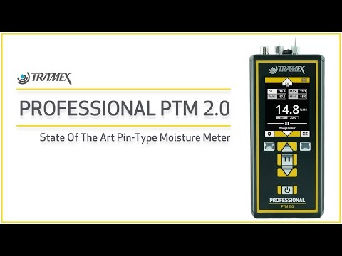 Tramex Professional PTM 2.0 Pin-Type Moisture Meter.