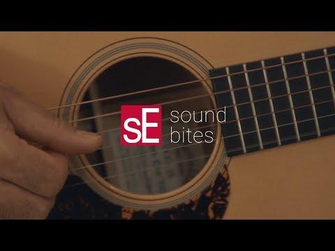 SoundBites: sE8 + Acoustic Guitar
