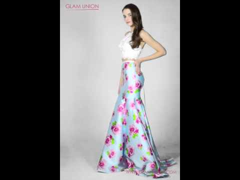 two-piece-floral-print-mermaid-prom-dress-|-glam-union