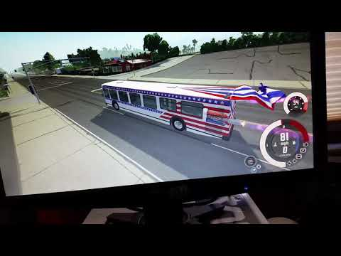 The definition of American bus drifting.
