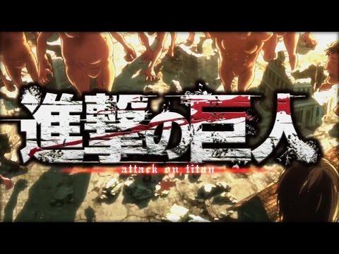 Attack On Titan OPENING 3 - 進撃の巨人 Season 2 OP 1 [HD]