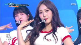 뮤직뱅크 Music Bank - 여름여름해(Sunny Summer) - 여자친구(GFRIEND).20180720