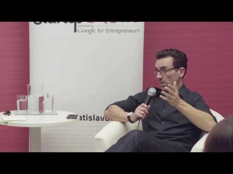 Paul Jozefak (Liquid Labs) at Startup Grind Bratislava