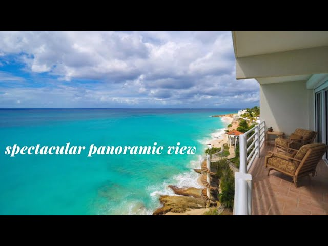 Rainbow Beach Club Penthouse, Real Estate Cupecoy St. Maarten SXM