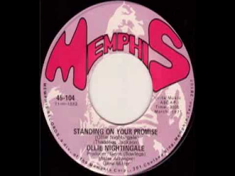 Standing On Your Promise - Ollie Nightingale (Memphis-104)