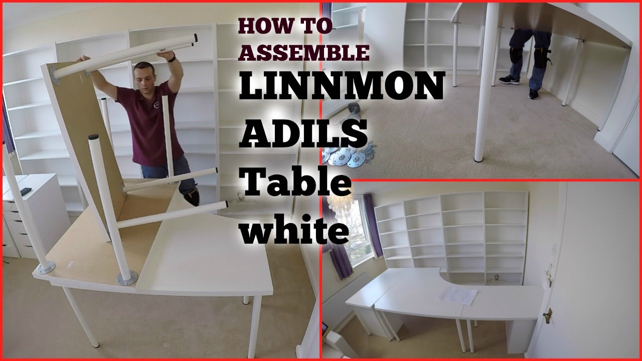 Furniture linnmon corner desk for exciting office furniture