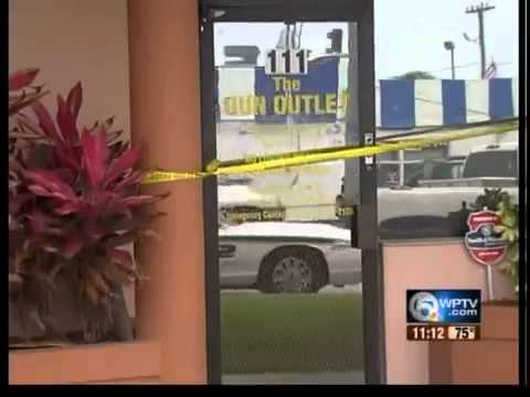 Customers concerned after West Palm Beach gun shop raid