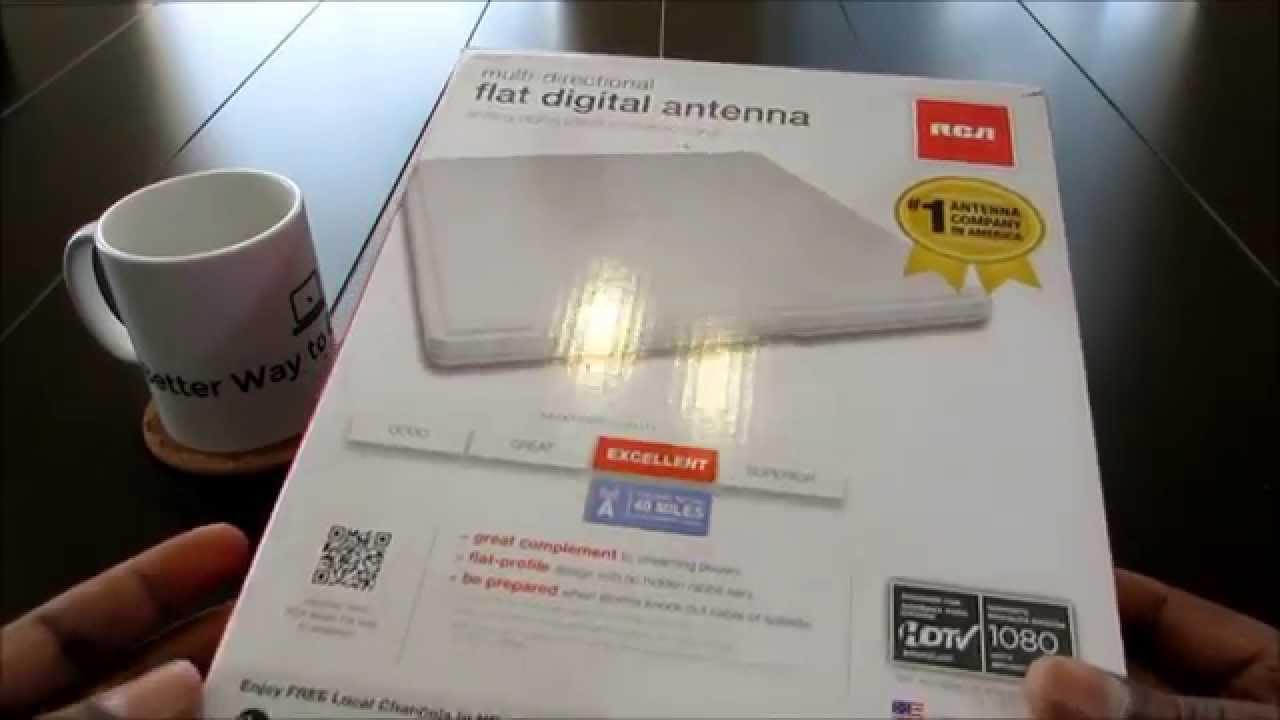 Multi Directional Digital Flat Indoor Antenna Youtube