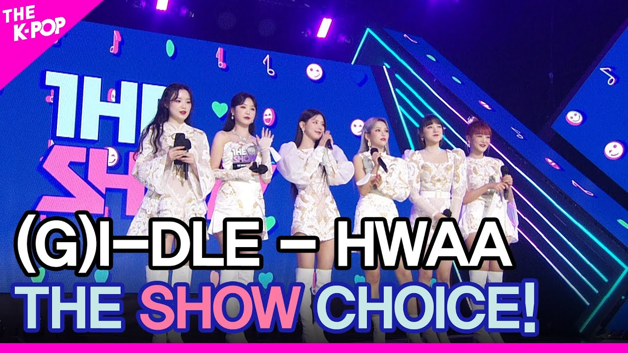 (G)I-DLE((여자)아이들), THE SHOW CHOICE! [THE SHOW 210126]
