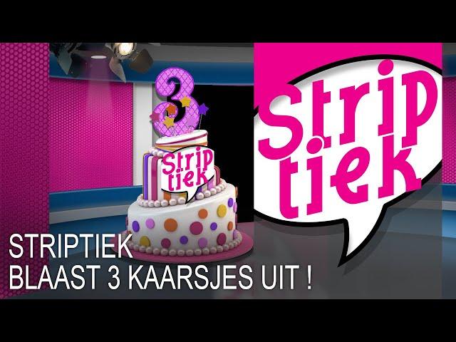 Striptiek wordt 3 jaar