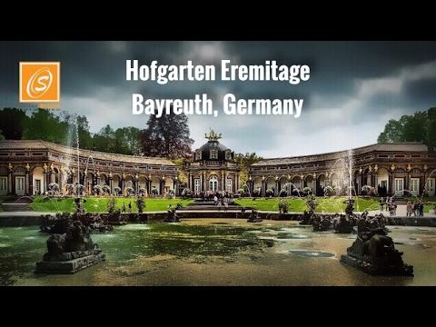 Hofgarten Eremitage - Walking Tour, Bayreuth, Bavaria, Germany