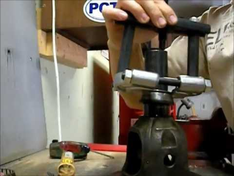 Dana 30 Carrier Bearing Removal Youtube