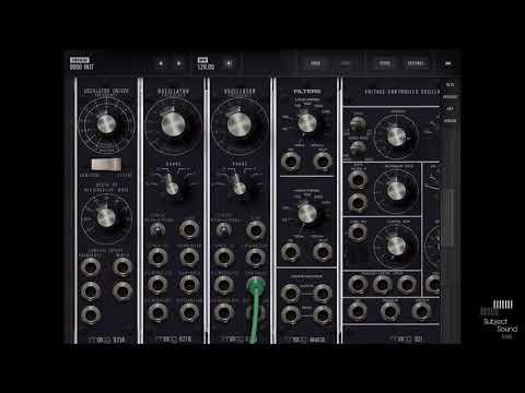 Moog Model 15 - Filters & Noise Tutorial