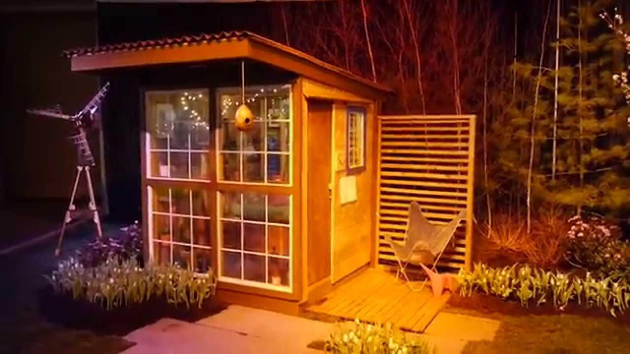 Tiny Art Studio Cabin Designed For Tree House Use Tiny