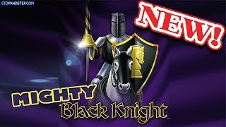 Mighty Black Knight NEW SLOT with Super Stacked Reels