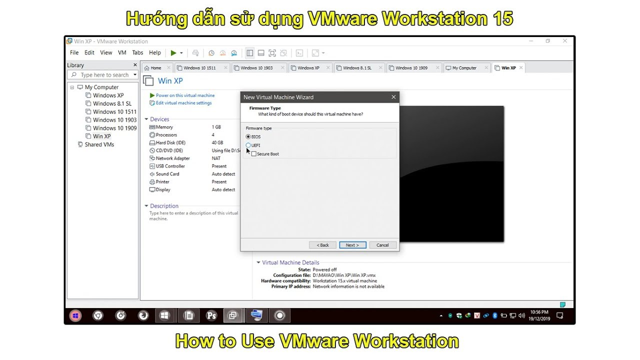 Hướng dẫn sử dụng VMware Workstation 15 (Từ A-Z)   How to Use VMware Workstation (Beginners)